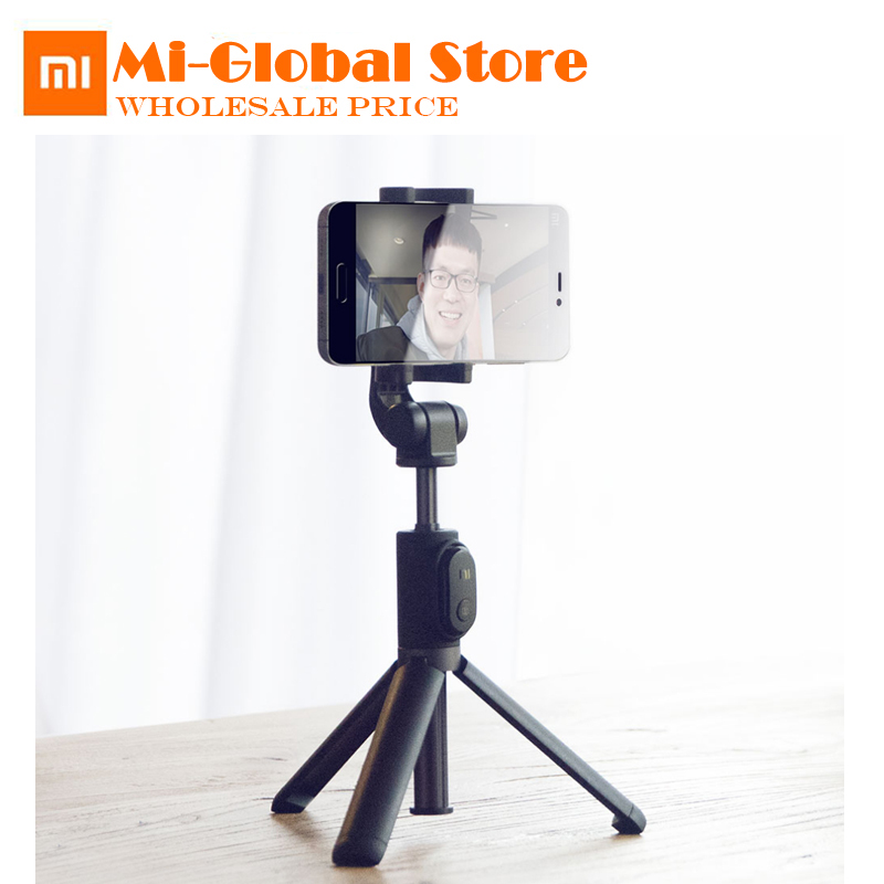 все цены на Xiaomi Handheld Foldable Tripod Monopod Selfie Stick Mini Tripod 3 in 1 Self-portrait Bluetooth Wireless Remote Shutter