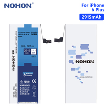 NOHON Phone Lithium Polymer Mobile Batteries Real 3.82V 2915mAh Battery For iPhone 6 Plus 6Plus iPhone6 6+ Free Tools