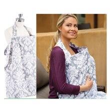 Чехол для грудного вскармливания, дышащий хлопковый материал, муслин, для кормления грудью, передник для кормления, шарф для кормления грудью для ребенка