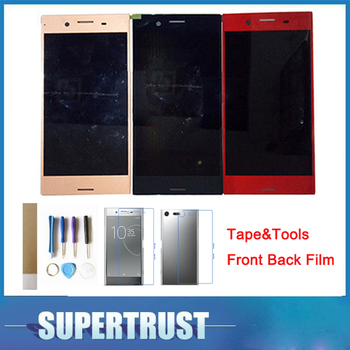 OriginalFor Sony Xperia XZ Premium G8141 G8142 LCD Display With Touch Sensor Glass Assembly 4 Color For Sony XZP with tool+tape
