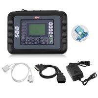 SBB V33.02 Automobile Key Programmer Smart Remote Car Key Programming Unit Multi Language Diagnostic Transponder Interface