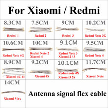 Chenhaoran – câble flexible de signal d'antenne, pour Redmi 1 2 3 Note 3G 4G Note 2 3 4 Xiaomi 2 3 4 4C 4I 4s 5 5s Redmi note 4X MAX