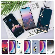 Transparent Soft Silicone Phone Cases La Land for Huawei Honor 7A Pro P Smart P20 P9 P8 9 Lite 2017