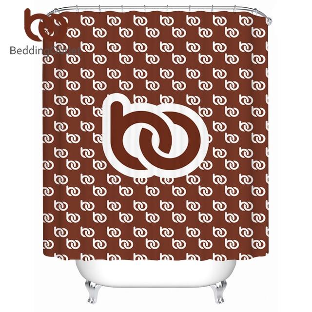 BeddingOutlet DIY Customized Shower Curtain Waterproof Print on Demand Bath Curtain POD Custom Made Bathroom Decor With Hooks
