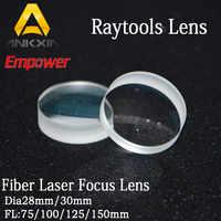 Lentes Raytools colimador/lente de enfoque para cabezal de corte láser de fibra BT230/BT240 D30mm F75/100/125/150/200