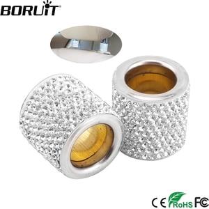 BORUiT 1/2 Pair Icy Crystal Ca