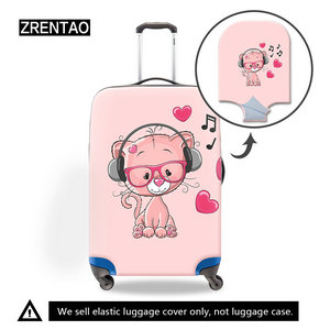 luggage cover cartoon
