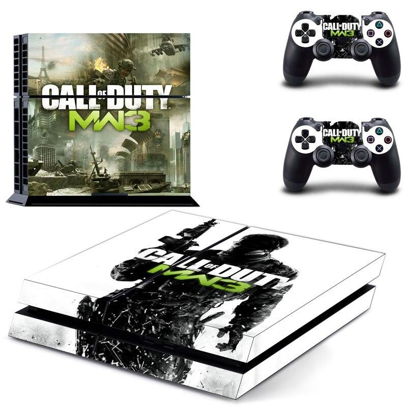 Для PS4 наклейки Call of Duty серии наклейки для sony Playstation 4 консоли и контроллера чехол