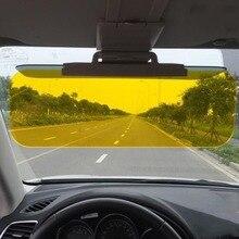 Universal Design A Doppio Uso Day & Night Vision Anti di Guida occhiali da Sole A Specchio Visiera Regolabile Leggero Car Sun Visor
