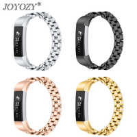 ¡Novedad! correa de repuesto de correa de reloj de Metal y acero inoxidable de 4 colores para pulsera Fitbit Alta HR/Alta calidad