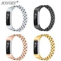 Nuovo Arrivo 4 Colori di Metallo in Acciaio Inox Watch Band Strap di Ricambio per Fitbit Alta Hr/Alta Tracker Braccialetto di Alta qualità