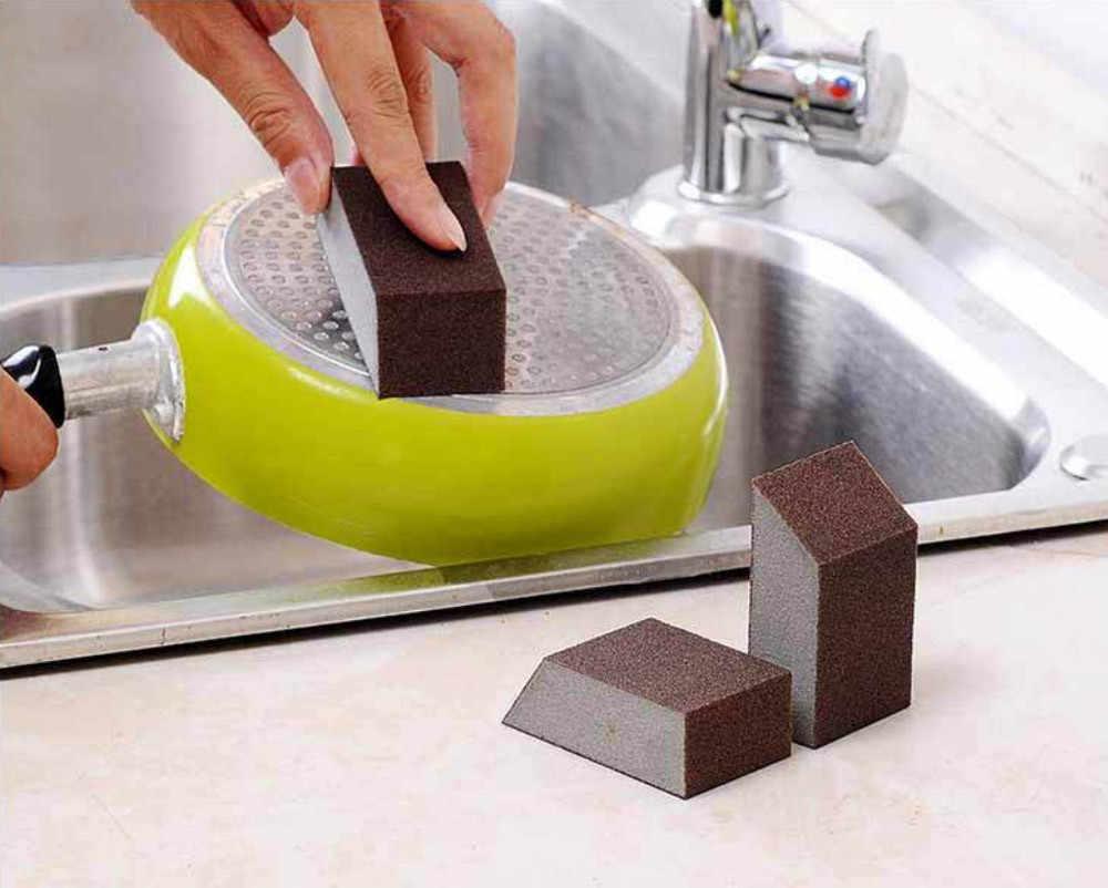 1pc Carborundum magia gąbka szczotka kuchnia do mycia domu narzędzie do czyszczenia wysokiej jakości T