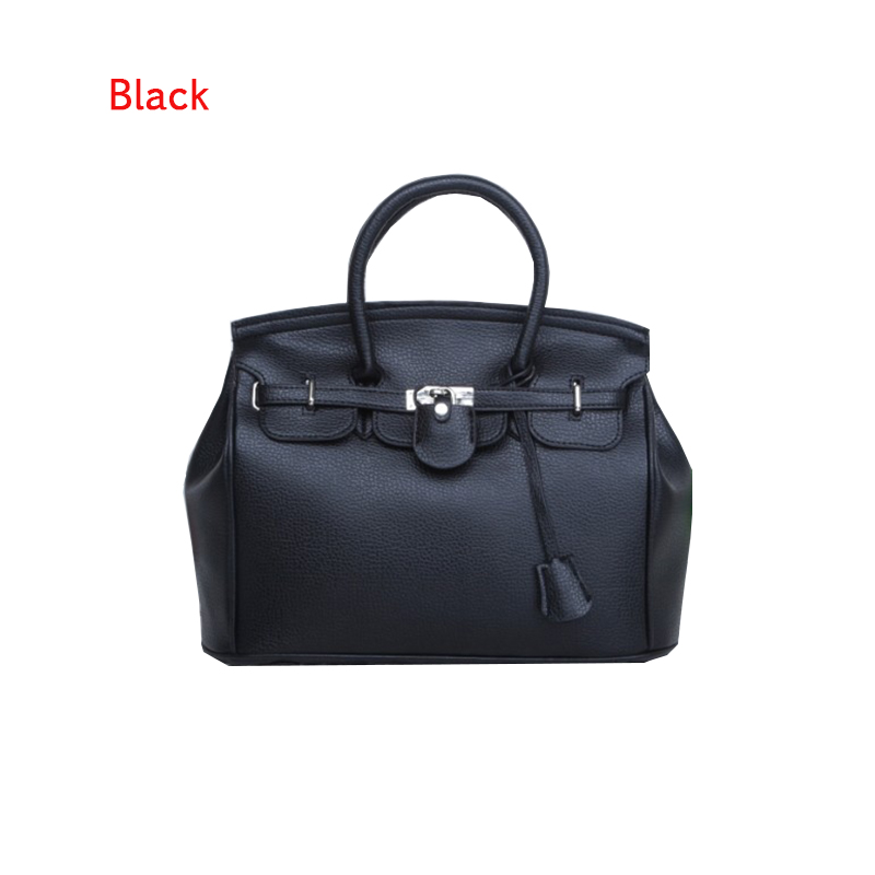2c1118e9e833 US $25.56 |Hot Sale Vintage Celebrity Girl Faux PU Leather Tote Hand Bags  for women fashion designer bolsos shoulder bag Woman Handbag-in Top-Handle  ...