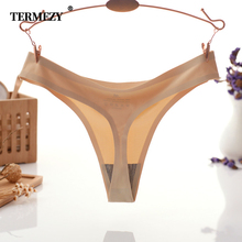 TERMEZY 3pcs/pack Sexy Women G strings & thongs briefs sexy womens underwear panty Seamless Lingerie Female Underwear Thong