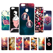 3D DIY Case For OPPO F7 Silicone Patterned Cases Back Covers Fundas Coque Housing Shells Hood Capa
