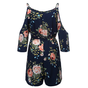 Women Chiffon Playsuits Shorts Femme Summer Vacation Onesies Overalls Rompers Bohe Beachwear Short Jumpsuit Hollow Out Cami 5