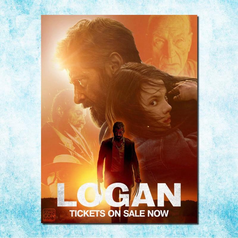 The Wolverine 3 Logan Film Art Silk Canvas Poster Hugh Jackman 13x18 - Dekorasi rumah - Foto 1