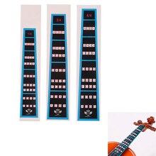 Подставки для скрипки Стикеры записная книжка Label Finge практичная Палетка палец руководство для начинающих аксессуары Запчасти для скрипки горячая распродажа
