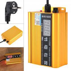 JF-001B 110000W AC skrzynka do oszczędzania energii z wyświetlaczem LED napięcia i niezależnym bezpiecznikiem dla domu/biur/fabryk