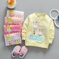 2017 nova primavera camisas do bebê sweatershirts bebê 0-3years SD01