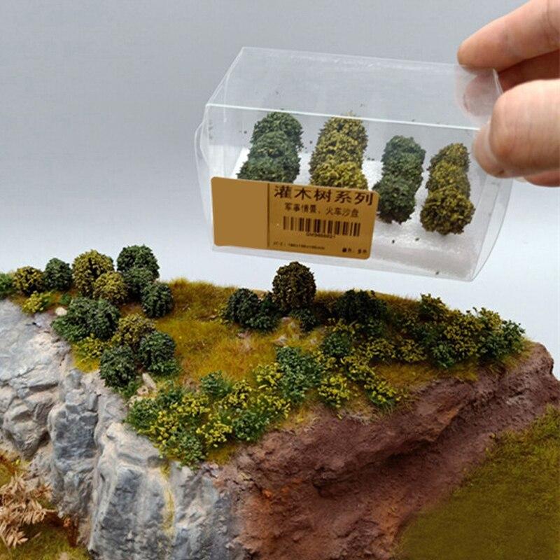 Simulated Shrub Military Scenario Shrub Sand Table Landscape Tree Model DIY Handmade Materials Scale Models Scene Landscape