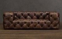 Jixinge ультра сильный, vip диван, VIP масло воск полный кожаный диван гостиная диван 3 х местный мебель для дома
