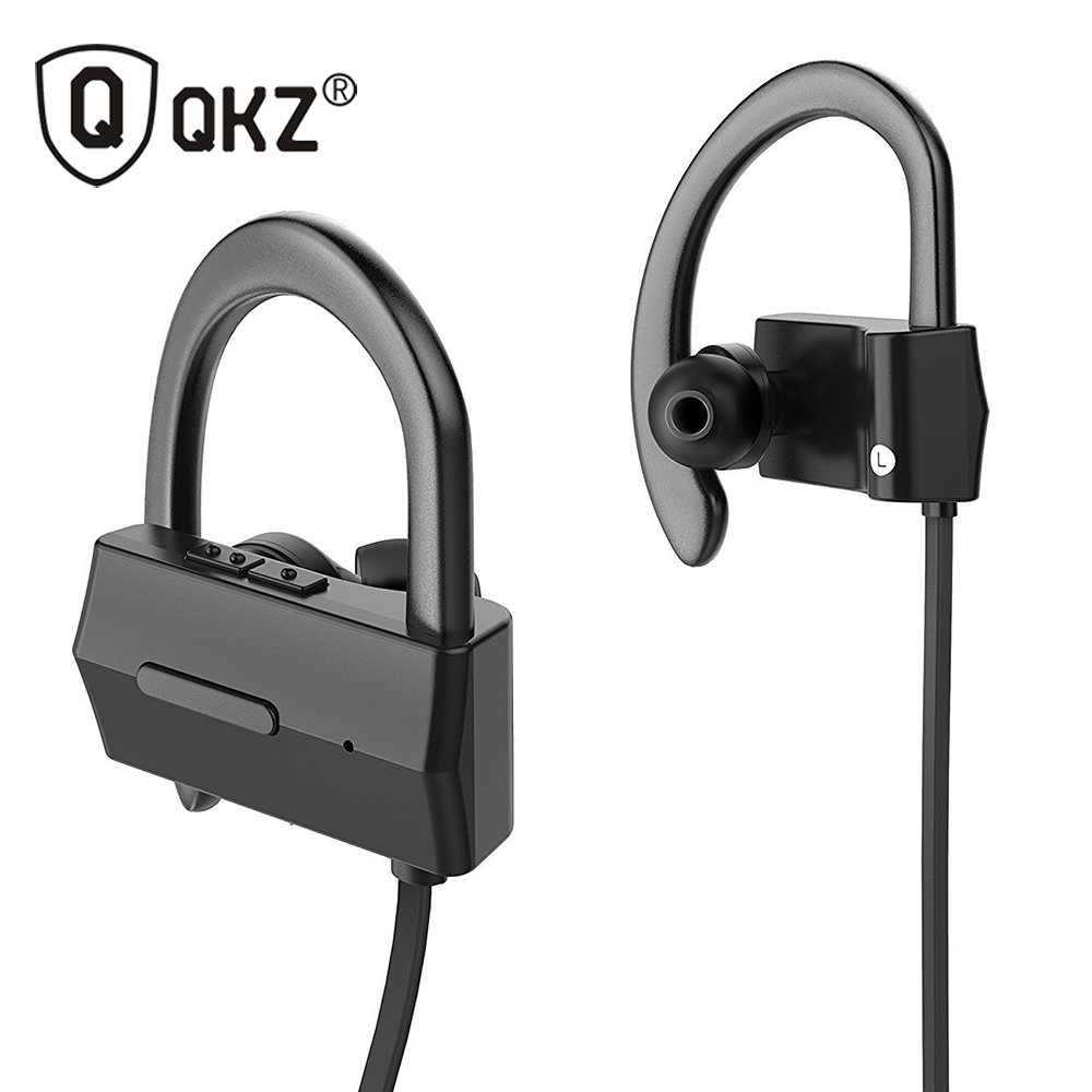Original Earphone QKZ QG10 Bluetooth Headset Wireless Sport Bluetooth Earphone with Mic Noise Cancelling Headset fone de ouvido bluetooth earphone headphone for iphone samsung xiaomi fone de ouvido qkz qg8 bluetooth headset sport wireless hifi music stereo