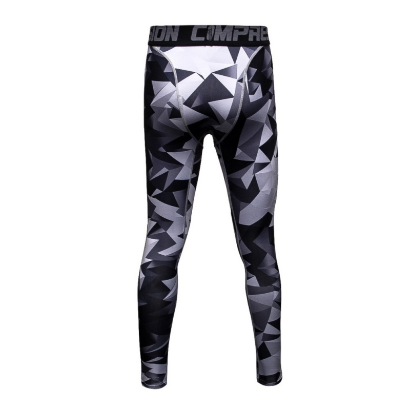 2018 Mens Compression Pants Running Tights Basketball Gym Pants Bodybuilding Jogger Jogging Skinny Leggings Trousers Sportswear