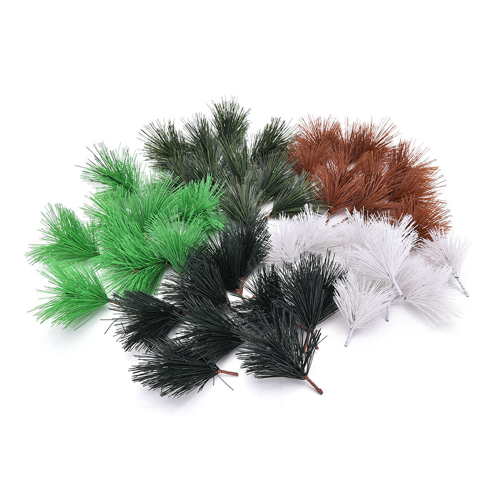 Christmas Tree Needles: Artificial Pine Needles Xmas Tree Decor Needle Mixed