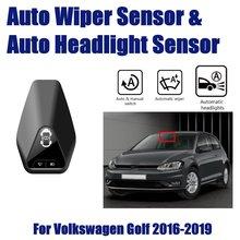 купить Smart Car Driving Assistant SystemFor Volkswagen VW Golf 7 1.5L 2016~2019 Auto Automatic Rain Wiper Sensor & Headlight Sensors по цене 15477.14 рублей