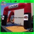 Оптовая дешевые надувные арки для продажи, красочные надувные входная арка финиша арка