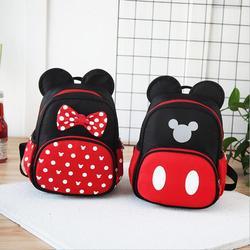 2019 Novos sacos de escola Dos Miúdos Sacos de jardim de Infância As Crianças Escola Dos Desenhos Animados Mickey Minnie Mochila Satchel Mochilas À Prova D' Água