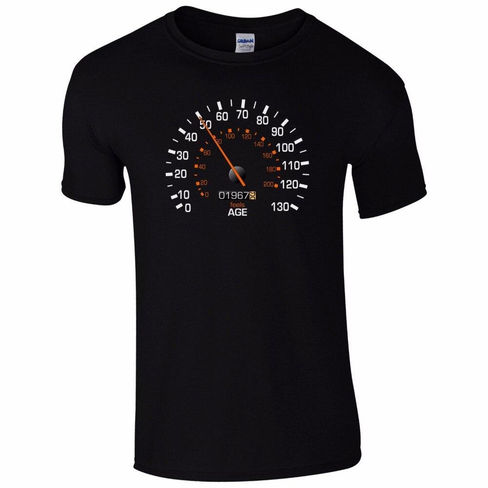 Mens Customized T Shirts Speedo Meter 1967 50Th Birthday Shirt
