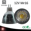 New High Power Lampada Led MR16 GU5.3 COB 3w 5w 7w Dimmable Led Cob Spotlight Warm Cool White MR 16 12V Bulb Lamp GU 5.3 220V