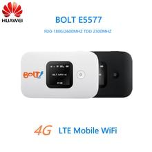 Desbloqueado huawei e5577 estofados inalámbrica lte fdd dl/ul 105/50 mbps 4g módem inalámbrico portátil, PK E589 E5776