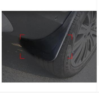 For Mercedes Benz GLC Class X205 2015-2016 without running boards Splash Guard Mud Flaps Mudguards executive car