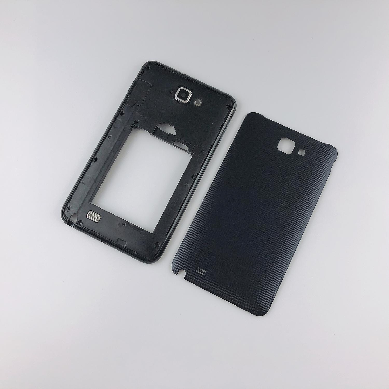 For Samsung Galaxy Note 1 N7000 I9220 Housing Middle Frame Cover + Battery Back Cover