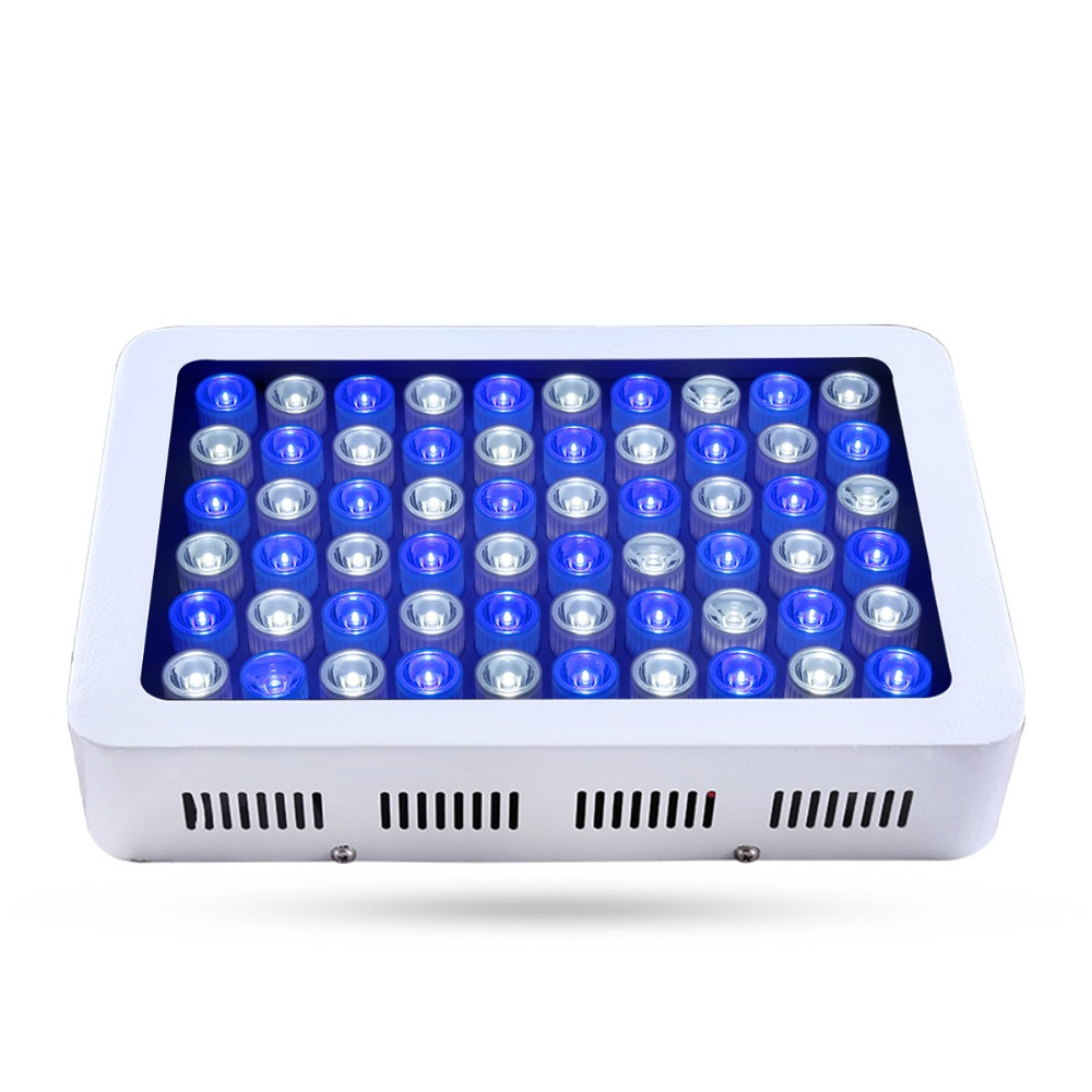 White Aquarium light Fish Tank Epistar Led Light Lamp White+Blue Marine Aquarium tank coral reef lighting dropshipping