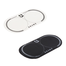 Double Bass Drum Patch Percussion Instruments for Replacement Parts Drum-heads Kick Pad Accessory Musician