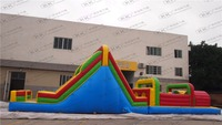 Adults Land Inflatable Obstacle Game Equipment Inflatable Obstacle Course For Sale