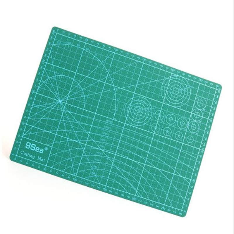 Good quality A3 Cutting Mat 45*30cm Manual DIY Tool Cutting Board Double-sided Available Self-healing Cutting Pad single sided blue ccs foam pad by presta