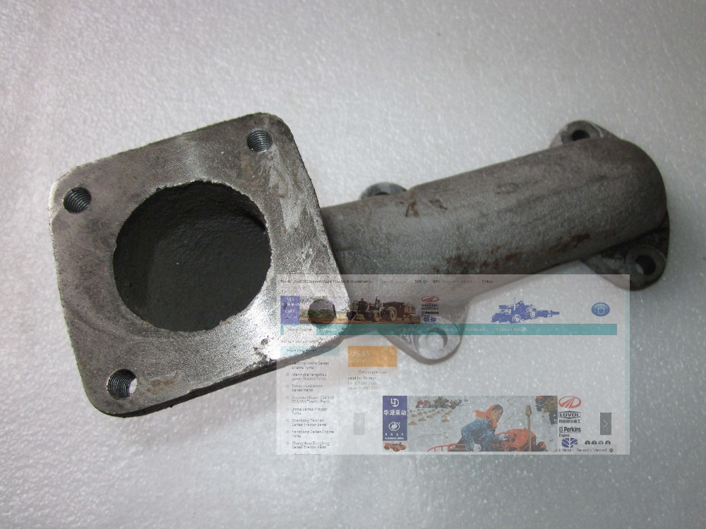 Fengshou FS184 Estate-184 the exhaust manifold, part number: J285.10.201B fengshou estate 180 184 the cylinder head hood part number j285 01 301a