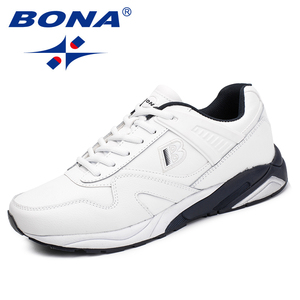 Image 4 - BONA New Calssice Style Men Running Shoes Lace Up Men Athletic Shoes Outdoor Jogging Sneakers Shoes Comfortable Free Shipping