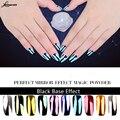 Nueva 10 Colores Metálicos Espejo Mágico Efecto Cromado M02793 Polvo Del Polvo de Uñas de Arte