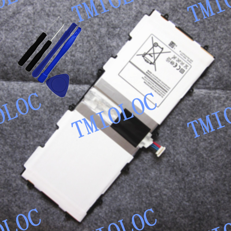 100% New TMIOLOC 6800mAh T4500E Battery For Samsung Galaxy Tab 3 10.1 P5200 P5210 GT-P5200 GT-P5210 With Tools
