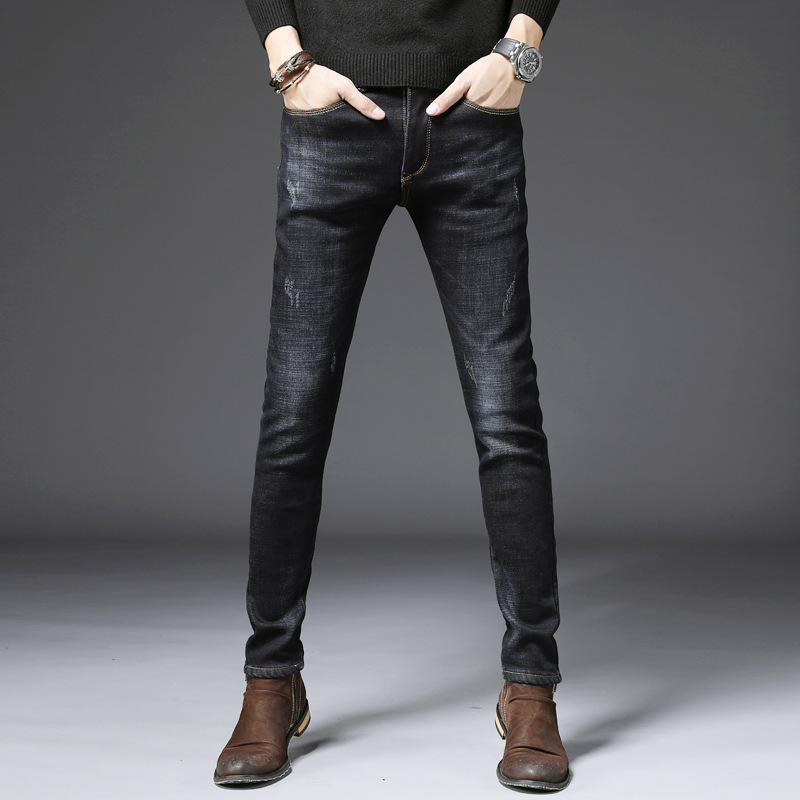 DN джинсы универсальные повседневные брюки короткие тонкие зимние женские цветные узкие джинсы с высокой талией женские джинсы высокие ...