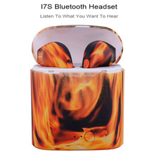 лучшая цена NEW Colorful i7S TWS Mini Bluetooth 5.0 Earphones,Stereo Bass Wireless Headset Earbuds with Mic Charging Box for iphone Android