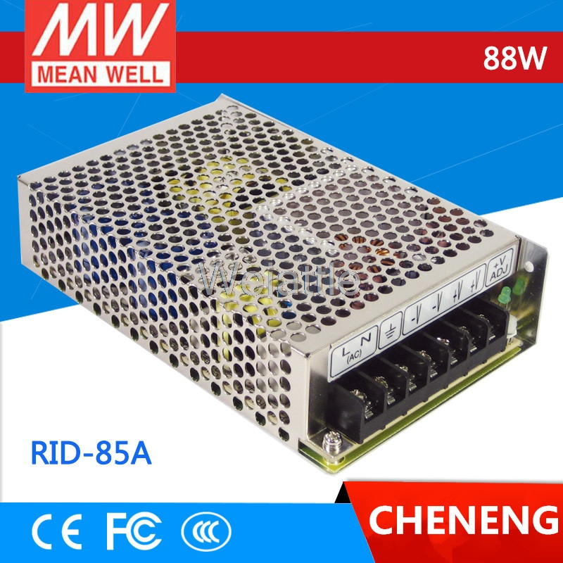 MEAN WELL original RID-85A meanwell RID-85 88W Dual Output Switching Power Supply стоимость