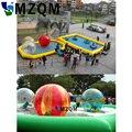 MZQM dauerhafte aufblasbare wasser pool günstige aufblasbare sand pool für kinder  platz aufblasbare schwimmen pool für verkauf-in Aufblasbare Hüpfburg aus Spielzeug und Hobbys bei