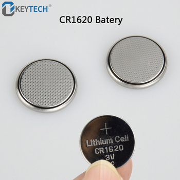 OkeyTech Auto Key Button Battery CR1620 3V Lithium Battery Coin Button Cells Good Quality For Peugeot For Citroen For Mazda image